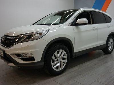 käytetty Honda CR-V 1,6 Diesel Executive Sensing A **ILMAINEN KOTIINKULJETUS**