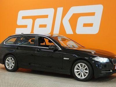 käytetty BMW 520 520 F11 Touring d A Business ** 1 omistaja / Suomi-auto / Merkkihuollot / Hifi / Lohkolämmitin **