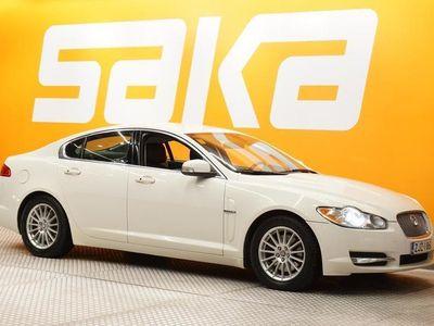 käytetty Jaguar XF 2,7D V6 Premium Luxury Business ** Suomi-auto / Xenon / Nahat / Navi / KeylessGo / Ratinlämmitin **