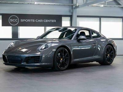 käytetty Porsche 911 Carrera 991.2 Coupé PDK, Sport-Pakoputkisto, PASM-Aktiivijousitus, Täyd. HK, Agate Grey-Metalliväri