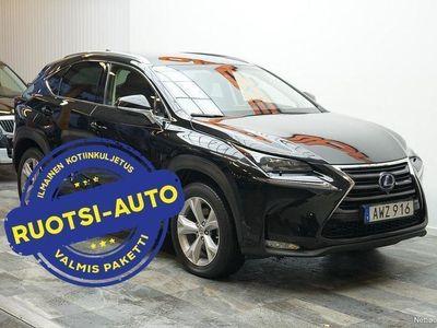 käytetty Lexus NX300h NX *TYYLIKÄS*AWD 2.5 AWD ECVT, 145 kW, 2015 Rahoituksella, Kotiin toimitettuna!
