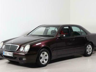 käytetty Mercedes E240 - Hienokuntoinen bensa väyrynen Seuraava katsastus: 01.11.2021