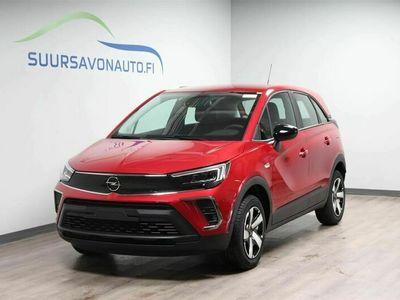 käytetty Opel Crossland X Comfort 130 Turbo Automatic Edition **Valmiina ajoon -paketilla - Kamera / LEDit / Tutkat / Aut ilm*