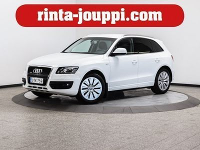 käytetty Audi Q5 2,0 TFSI hybrid quattro tiptronic-autom. - Tyylikäs neliveto. Kulutus seka-ajossa 6,9 l / 100 km
