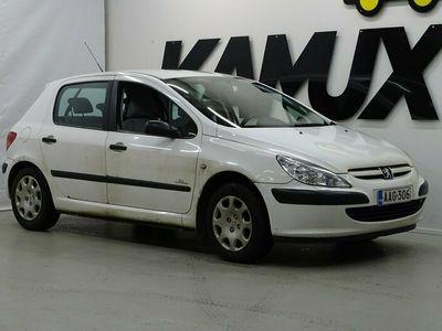käytetty Peugeot 307 XR 1,4 16V 5d S-Edition / Suomi-auto / Lohkolämmitin ja sisäpistoke / Hihna vaihdettu 10/2020!