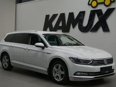 käytetty VW Passat Variant Executive 2,0 TDI 140 kW (190 hv) 4MOTION DSG-automaatti / Digimittaristo / Navi / Pa-lisälä