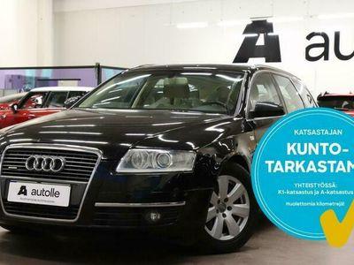 käytetty Audi A6 *HIENO JA VARUSTELTU* Avant 3,0 V6 TDI 171 kW quattro! Tarkastettuna, Rahoituksella, Kotiin toimitet
