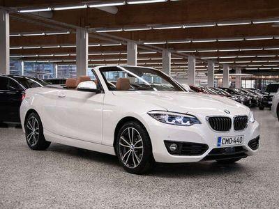 käytetty BMW 218 218 F23 Cabrio i A Business Sport *HARMAN/KARDON, ADAPTIIVICRUISE, LED-VALOT, NAVI, COMFORT ACCESS*
