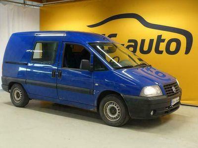 käytetty Fiat Scudo Van 1.9D #JUURTULLUT #Edullinen #Pikkupaku #Pariovet #Ilmastointi