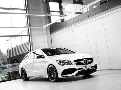 käytetty Mercedes CLA45 AMG Shooting Brake AMG 381hv 4Matic Aut + Navi + Harman/Kardon + Keyless Go + LED-valot + Tutkat