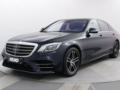 käytetty Mercedes S560 e L AMG Line Plus, Aktiivi Cruise, Panorama, Keyless, Burmester,.