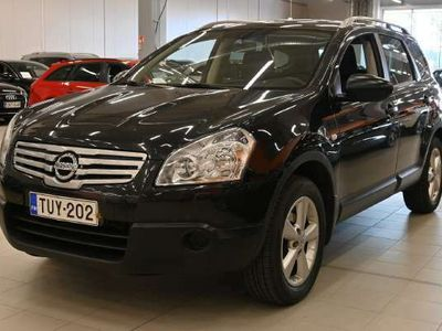 käytetty Nissan Qashqai +2 2,0 Visia 6MT 2WD ** Suomi-auto / Lasikatto / Istuimet 7:lle / Vetokoukku / Ilmastointi **