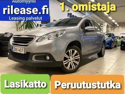 käytetty Peugeot 2008 Vision VTi 82, Lasikatto, Jakohihna juuri vaihdettu, Peruutus tutka, 1-omistaja, 2x Alut,