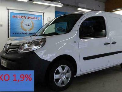 käytetty Renault Kangoo Express 1,5 dCi 90 S&S Todella vähän ajettu Läpijuostava Korko 1,9%