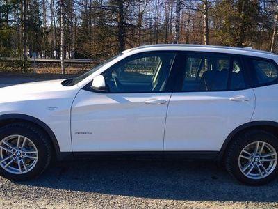 käytetty BMW X3 xDRIVE20d TwinPower Turbo 190 hv UUSI FACELIFT-MALLI Hyvä/hieno Suomi-auto SOVI ESITTELY 040-4860702