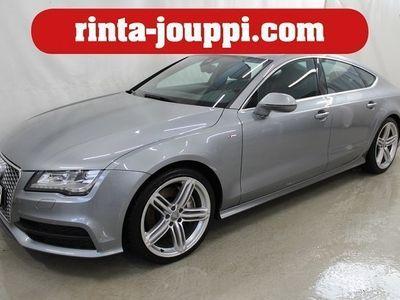 käytetty Audi A7 Sportback S line edition 3,0 V6 TDI BiTbo Q A (M13*Navi*313hv*Webasto kauko-säätimellä* - Näyttävä ja tehokas