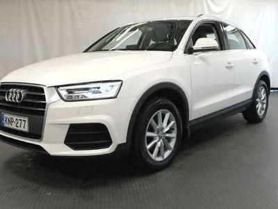 käytetty Audi Q3 Land of Q Edt 2,0 TDI cleanD 110 Q - Neliveto, Lisälämmitin kauko-ohjaimella, Urheiluistuimet, yms.