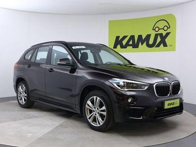 käytetty BMW X1 F48 xDrive18d Aut Sport Line // Vetokoukku / Navigointi / Led-ajovalot //