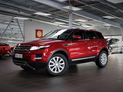 käytetty Land Rover Range Rover evoque 2,2 TD4 Pure Aut K.Webasto, 1. omisteinen suomiauto, Panorama, Meridian-hifi, nahat yms