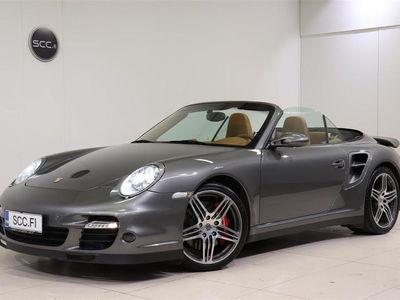 käytetty Porsche 911 Turbo Cabriolet Tiptronic S, Chrono, Mukautuvat urheiluistuimet, Vähän ajettu yksilö,.