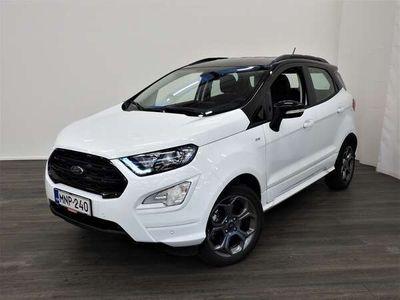 käytetty Ford Ecosport 1,0 EcoBoost 125hv A6 ST-Line 5-ovinen - Suomi-auto, 1-Omistaja, Merkkiliikkeen huoltokirja, Tutkat
