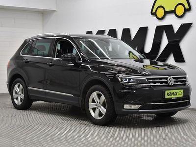 käytetty VW Tiguan Highline 2,0 TDI 140 kW (190 hv) 4MOTION DSG-automaatti ** HUIPPU VARUSTEET **