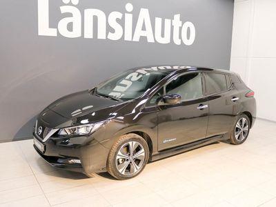 käytetty Nissan Leaf 40kWh Tekna **** LänsiAuto Safe -sopimus hintaan 590e ****