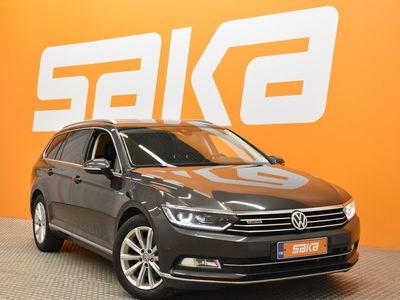 käytetty VW Passat Variant Highline 2,0 TDI 140 kW (190 hv) 4MOTION DSG-automaatti ** Webasto / ACC / Kaistavahti / BLIS ...