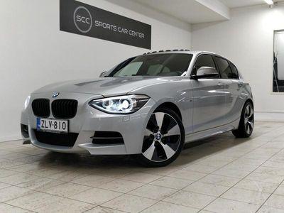 käytetty BMW M135 i F21 Hatchback Aut 320hv, Lasikattoluukku, HiFi, Tutkat, Comfort access, Urheiluistuimet, Navi
