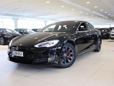 käytetty Tesla Model S S100D Perf. Ludicrous, Panorama, Täysin itsestään ajava, Next Generation ist, Premium äänentoisto
