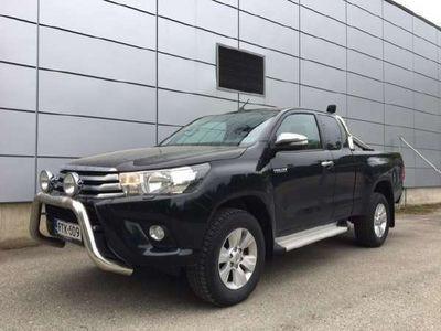 käytetty Toyota HiLux Extra Cab 2,4 D-4D 150 4WD Active *Webasto*