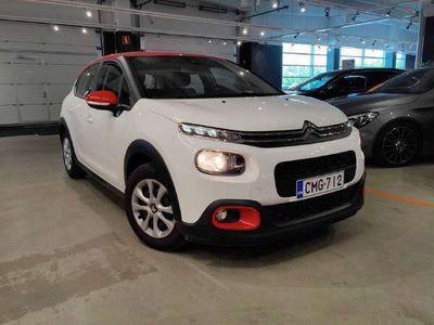 käytetty Citroën C3 PureTech 82 Feel ** Suomiauto / Lane assist / Apple CarPlay & AndroidAuto / P-tutka **
