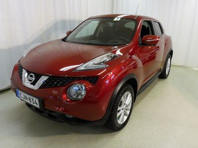 käytetty Nissan Juke DIG-T 115 Acenta 2WD 6M/T Tech Pack