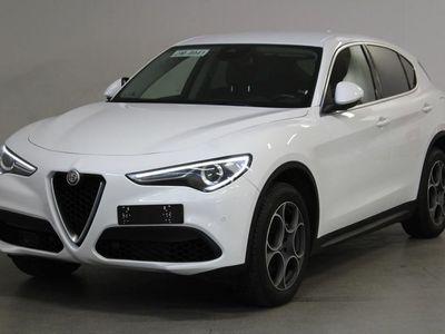 käytetty Alfa Romeo Stelvio 2,0 Bensiini 280hp AT8 AWD - Todella tyylikäs 280hv neliveto!