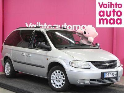 käytetty Chrysler Voyager 3,3 V6 A4 SE Touring Business 6hlö *KK erä alkaen 39e* *Käsiraha 0e* *DVD-soitin*