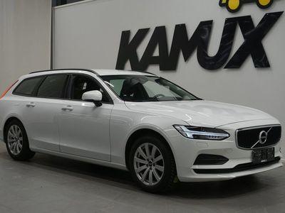 """käytetty Volvo V90 D3 Kinetic Business """"Lisälämmitin / Vetokoukku / Led ajovalot / Adap.vakkari / Merkkihuollettu"""""""