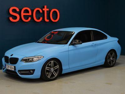 käytetty BMW 220 2-sarja F22 Coupe i A Business Sport, M-Sport Ratti, BC alustasarja, Tutkat Edessä ja Takana