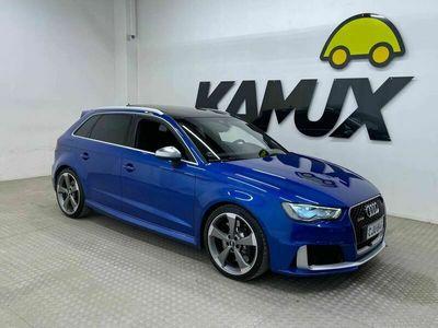 käytetty Audi RS3 Sportback 2,5 TFSI S tronic Helmiäisväri, Magnetic ride, B&O,Panoraama,RS 3-urheiluistuimet,280km/h