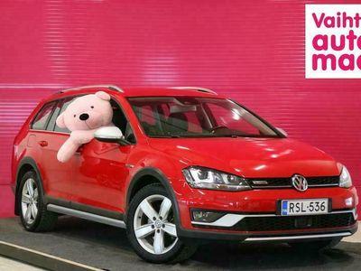 käytetty VW Golf Alltrack Variant 2,0 TDI (184 hv) 4MOTION DSG Winter Edition *Adap. Vakkari* *ErgoActive* *Keyless* *Koukku*