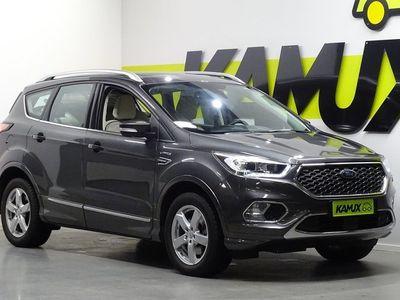 käytetty Ford Kuga 2,0TDCi 150 hv PowerShift AWD Vignale 5-ovinen / Neliveto / Lasikattoluukku / Peruutuskamera yms.