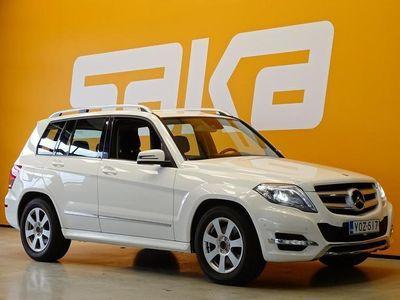 käytetty Mercedes GLK220 CDI BE 4Matic A Premium Business ** Merkkihuollettu / Webasto kaukosäädöllä / ILS / P-Tutkat / V
