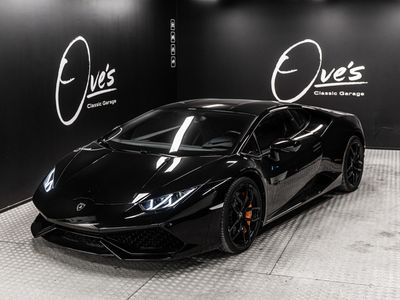 käytetty Lamborghini Huracán HuracánCoupé, ajettu vain 20tkm, myös tax-free