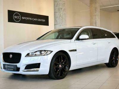 käytetty Jaguar XF Sportbrake 20d AWD Prestige Business - Webasto / Panoraama / Navigointi / Kamera / Nahat / Täyd. HK!