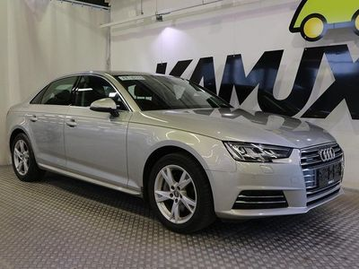 käytetty Audi A4 Sedan Business Sport 2,0 TDI 140 kW quattro S tronic **BI-XENON,NELIVETO,VETOKOUKKU,RATTIVAIHTEET**