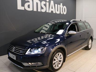 käytetty VW Passat Alltrack Variant 2,0 TDI 130 kW (177 hv) BlueMotion Technology 4MOTION DSG-aut ** Webasto - Suomi-auto - Vetokoukku ** **** LänsiAuto Safe -sopimus hintaan 590e ****