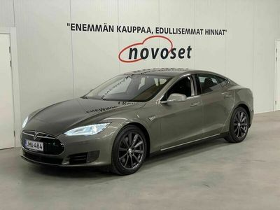 käytetty Tesla Model S 70D *1.99 Korko / Free Supercharger / Adaptive Light / Nextgen-penkit / Laajennettu Alcantara-sisusta *