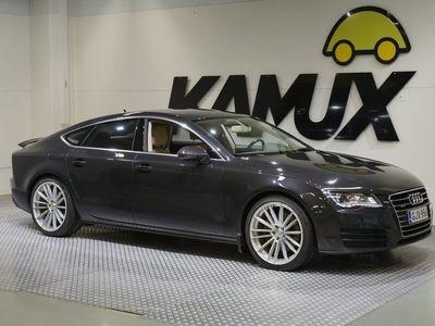 käytetty Audi A7 3,0 V6 TDI 180 kW Quattro S tronic / Suomi-Auto / Iso-Näyttö / Huoltokirja / Webasto / Vetokoukku / Vakkari / Sporttinahkajakkarat!