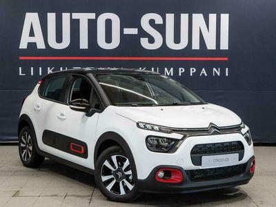 käytetty Citroën C3 PureTech 110 Comfort Selection #Automaatti #Peruutuskamera #Apple CarPlay #Ledi valot