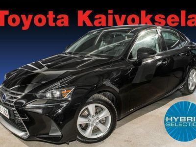 käytetty Lexus IS300h Hybrid A Comfort **BLACK FRIDAY KORKO 0%+KULUT**