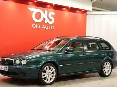 käytetty Jaguar X-type 2.0D Classic Estate 5d + NÄYTTÄVÄ DIESEL-KISSA UPEALLA VÄRIYHDISTELMÄLLÄ + EDULLISESTI IN RATTIIN + RAHOITUS +